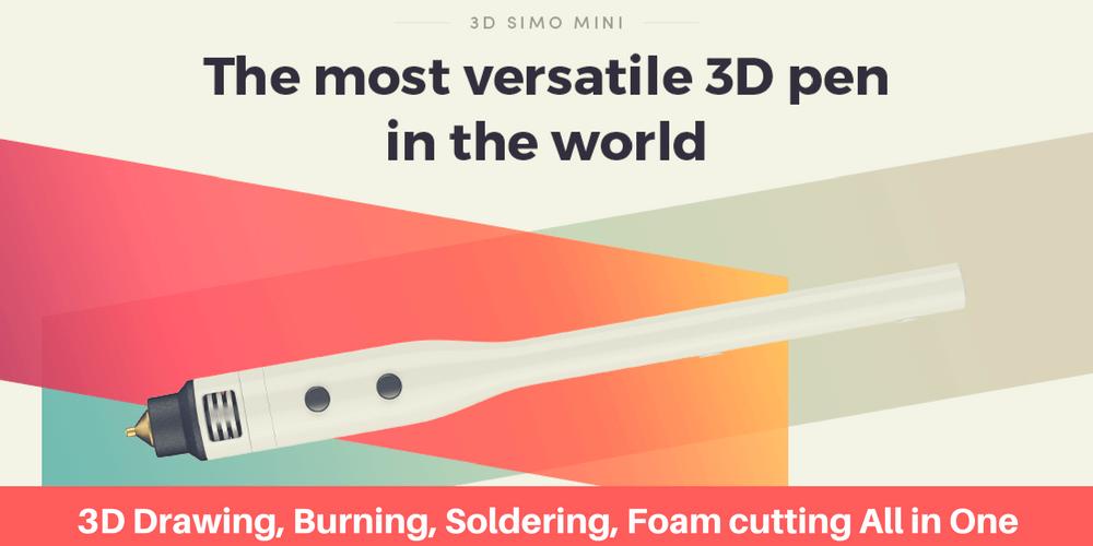 3D SIMO mini 3d printing pen